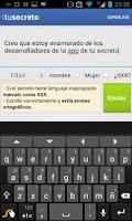 Screenshot of TuSecreto