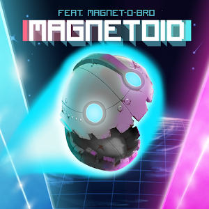MAGNETOID - Robo Runner. Try this awesome retro endless runner