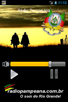 Screenshot of Rádio Pampeana