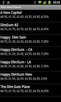 Screenshot of Dim Sum Bill Calculator