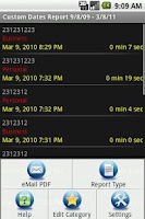 Screenshot of Call Log Extender