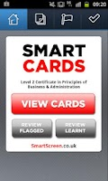 Screenshot of SmartCards: Business Admin L2