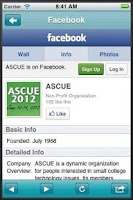 Screenshot of ASCUE
