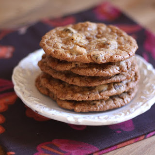 Toasted Coconut, Toffee and Chocolate Chip Cookies - Gluten Free or Not