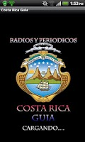 Screenshot of Costa Rican Guide