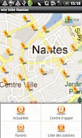 Screenshot of oto Vélo Nantes