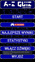 Screenshot of A-Z Quiz po polsku
