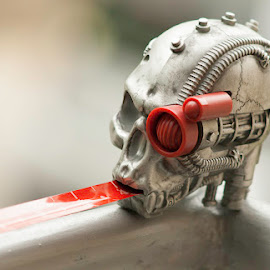 Head by Valics Lehel - Artistic Objects Toys ( skull, warhammer, future, head, ruler,  )