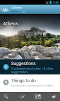 Screenshot of Greece Travel Guide by Triposo