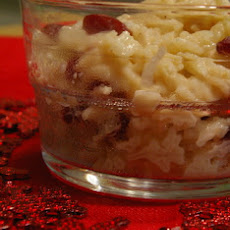Cardamom Cranberry Rice Pudding
