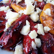 Mediterranean Marinated Roasted Peppers