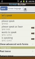 Screenshot of Learn Korean - Phrasebook