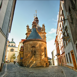 kaple sv. Jana Sarkandra, Olomouc by Irena Brozova - City,  Street & Park  Historic Districts