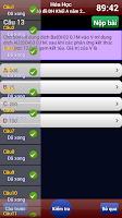 Screenshot of Luyện thi Hóa Học
