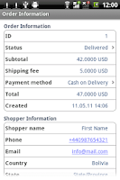 Screenshot of osCommerce Administrator