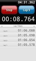 Screenshot of Lap Timer