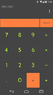 OsmTheme for CM calculator - screenshot