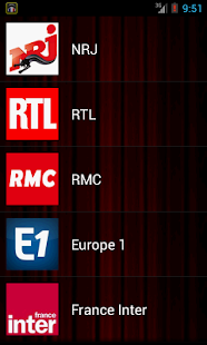 Radios France Live - screenshot