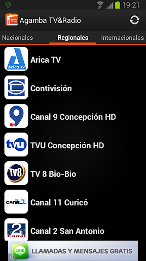 agamba-tvradio for android screenshot