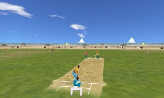 Screenshot of Beach Cricket