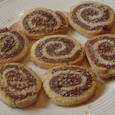 Chocolate and Coconut Pinwheels