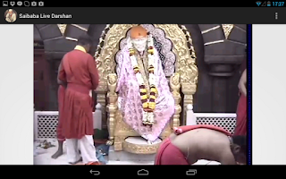 Screenshot of Shiridi Saibaba Live Darshan 2