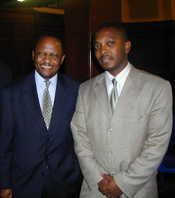Professor Njabulo Ndebele and Mr. Nkosinathi Biko, SBF CEO