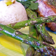 Asparagus With Lemon Curd