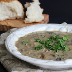 Creamless Cream of Mushroom Soup