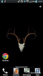 Buck Skull Live Wallpaper - screenshot