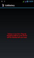 Screenshot of CaliBattery