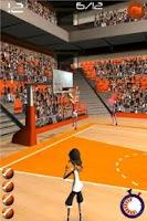 Screenshot of Basketball Shooting Stars
