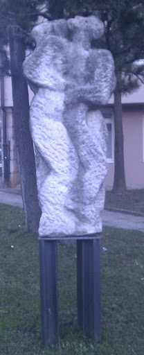 Two Figures Statue