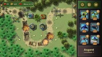 Screenshot of Jungle Defense Demo