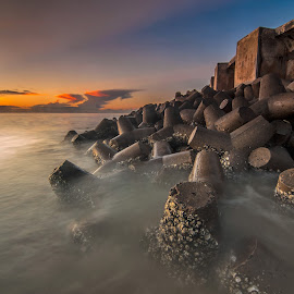::: STONES ::: by Chue Ardi - Buildings & Architecture Other Exteriors ( beach, sunrise, stones )