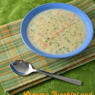 Creamy Zucchini and Carrot Soup