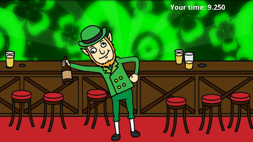 St Patrick's Day: Drunk Lep