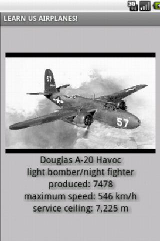 US Airplanes in WW2