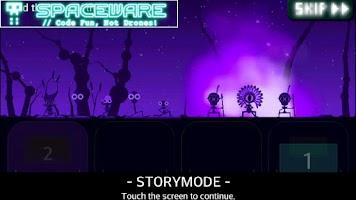 Screenshot of FLOW - A Space Drum Saga