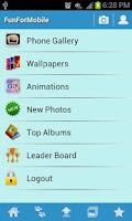 Screenshot of FunForMobile Photos