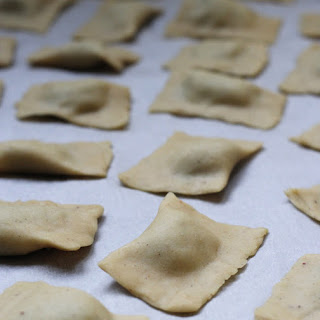 Fresh Eggless, vegan pasta dough