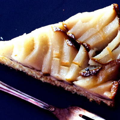 Almond-Pear Cake