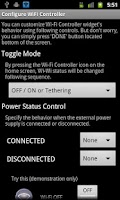 Screenshot of Wi-Fi Controller Widget