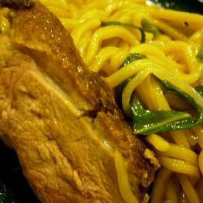 Pan-fried Duck Breast And Noodles