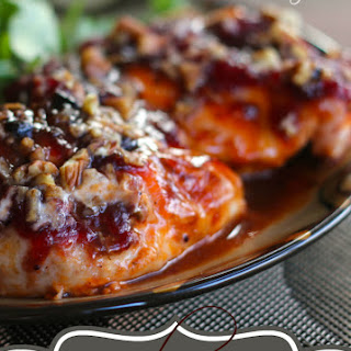 Baked Chicken With Cranberry Sauce Recipes