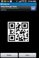 Screenshot of QRCodeLite - QR Code Generator