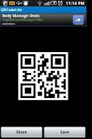 Screenshot of QRCodeLite - QR Code Generator