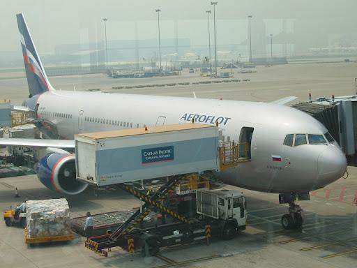 Przez Moskwę do Warszawy by Aeroflot