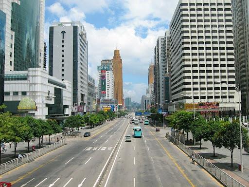 Ulice Shenzen