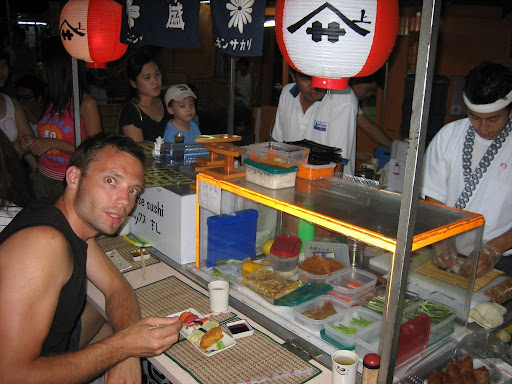 Sushi w domku dla lalek